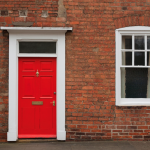 Why are red doors popular?